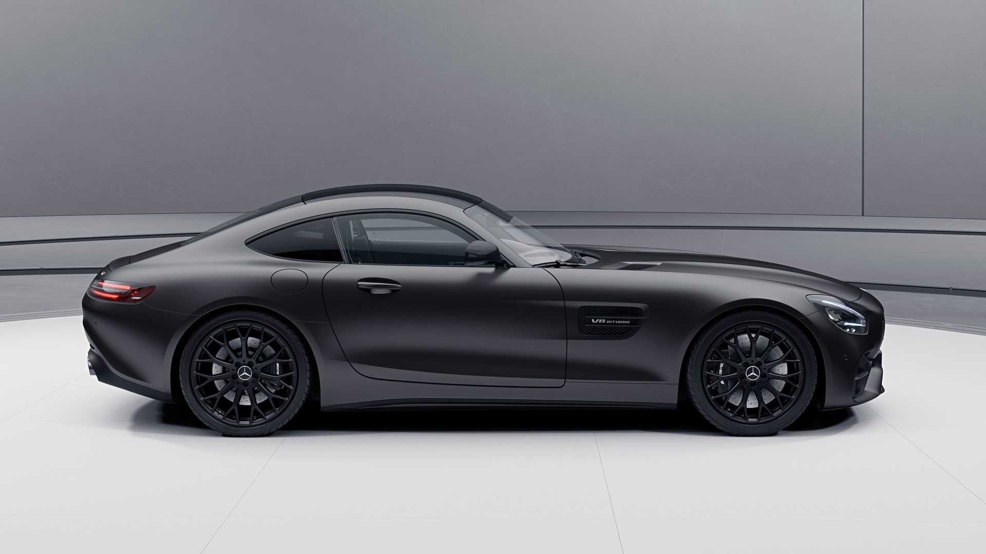 Mercedes Amg Gt Stealth Edition Hit The U S Showrooms