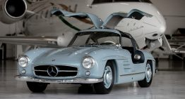 1957 Mercedes-Benz 300 SL Gullwing for sale. And it looks as good as new!