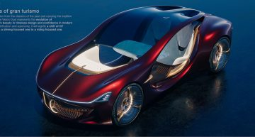 Mercedes-Benz Vision Duet – A Mercedes teleported straight from the future