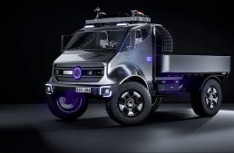What would a Mercedes EQ Unimog look like?