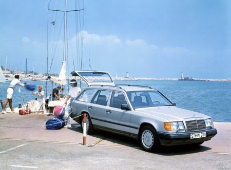 The father of the E-Class - 124 model series, 35 years on the road (4)
