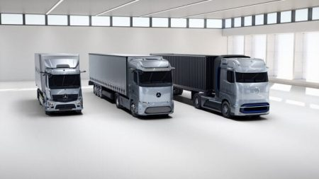 World premiere of Mercedes-Benz fuel-cell concept truck (1)