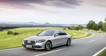 Mercedes S-Class configurator: options increase the price by another 50%