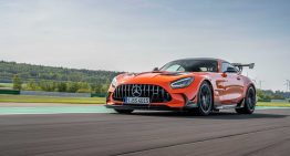 Mercedes-AMG GT Black Series laps the Hockenheim and turns out to be better than the McLaren 720S and Ferrari Pista