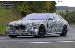 Mercedes-AMG S 63 and S 73 will be Plug-In Hybrid