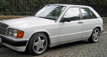 Who turned a Mercedes-Benz 190 E into a Volkswagen Golf?
