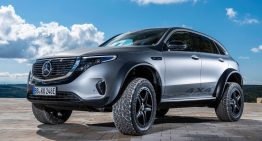 The Mercedes-Benz EQC 4×4² project – The extravagant electric off-roader