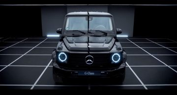 Funny ad shows how customers have to train in order to get a Mercedes-Benz G-Class