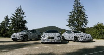 Mercedes-Benz trademarks EQE 43, EQE 53, EQE 63. There will be electric AMGs