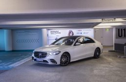 The new Mercedes-Benz S-Class can park autonomously at the Stuttgart airport