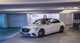 The new Mercedes-Benz S-Class can park autonomously at the Stuttgart airport