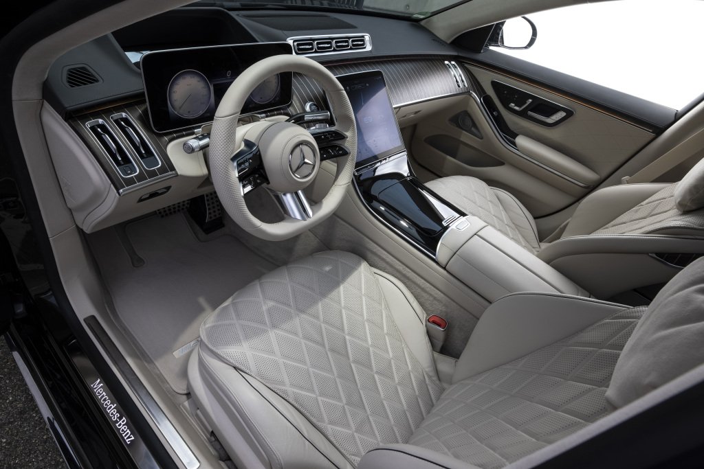 interior mercedes S-Class W223