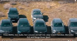 Who is the king of off-road? Mercedes GLE vs competition