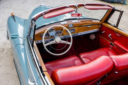 Jazz queen Ella Fitzgerald's gorgeous Mercedes-Benz 300D Cabriolet is for sale (2)