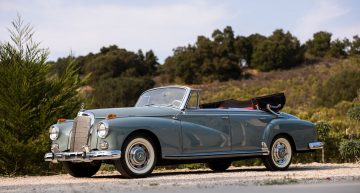 Jazz queen Ella Fitzgerald's gorgeous Mercedes-Benz 300D Cabriolet is for sale