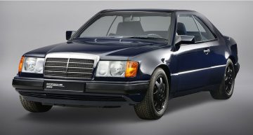 Mercedes 230 CE W124 Coupe with Porsche V8 engine
