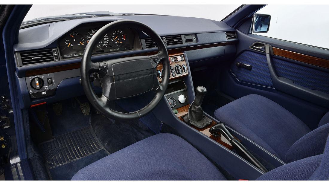 Mercedes 230CE W124 Porsche 989 mule