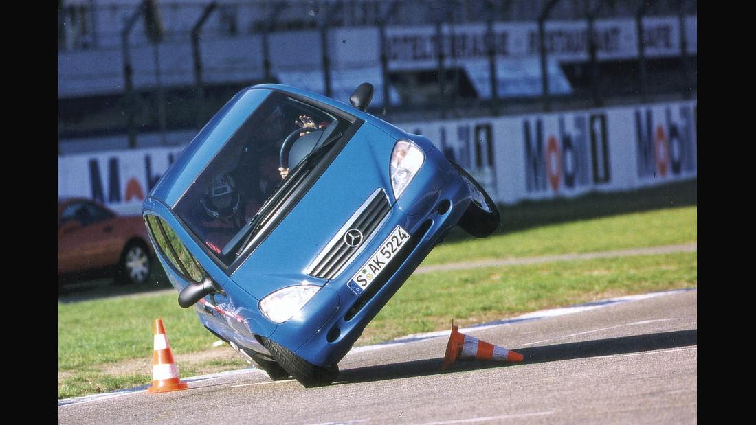 mercedes A-Class elk test 1997