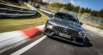 Mercedes-AMG GT 63 S 4MATIC+ 4-Door Coupe beats Porsche Panamera's record at the Nurburgring