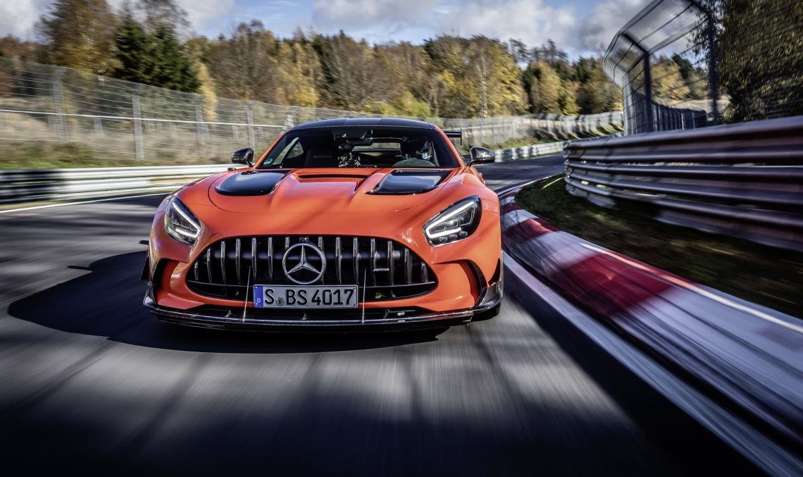Mercedes-AMG GT Black Series is the fastest series production car at the Nurburgring