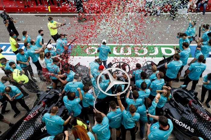 Mercedes-AMG Petronas wins 7th World Championship title after Imola triumph