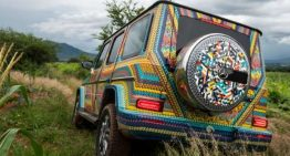 "Colorful Mercedes-Benz G-Class ""Alebrije"", painted by hand, tours Mexico to show off"