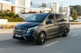 The Mercedes-Benz V-Class MPV gets the AIRMATIC suspension