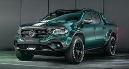 Carlex Design redesigns the Mercedes-Benz X-Class. Again