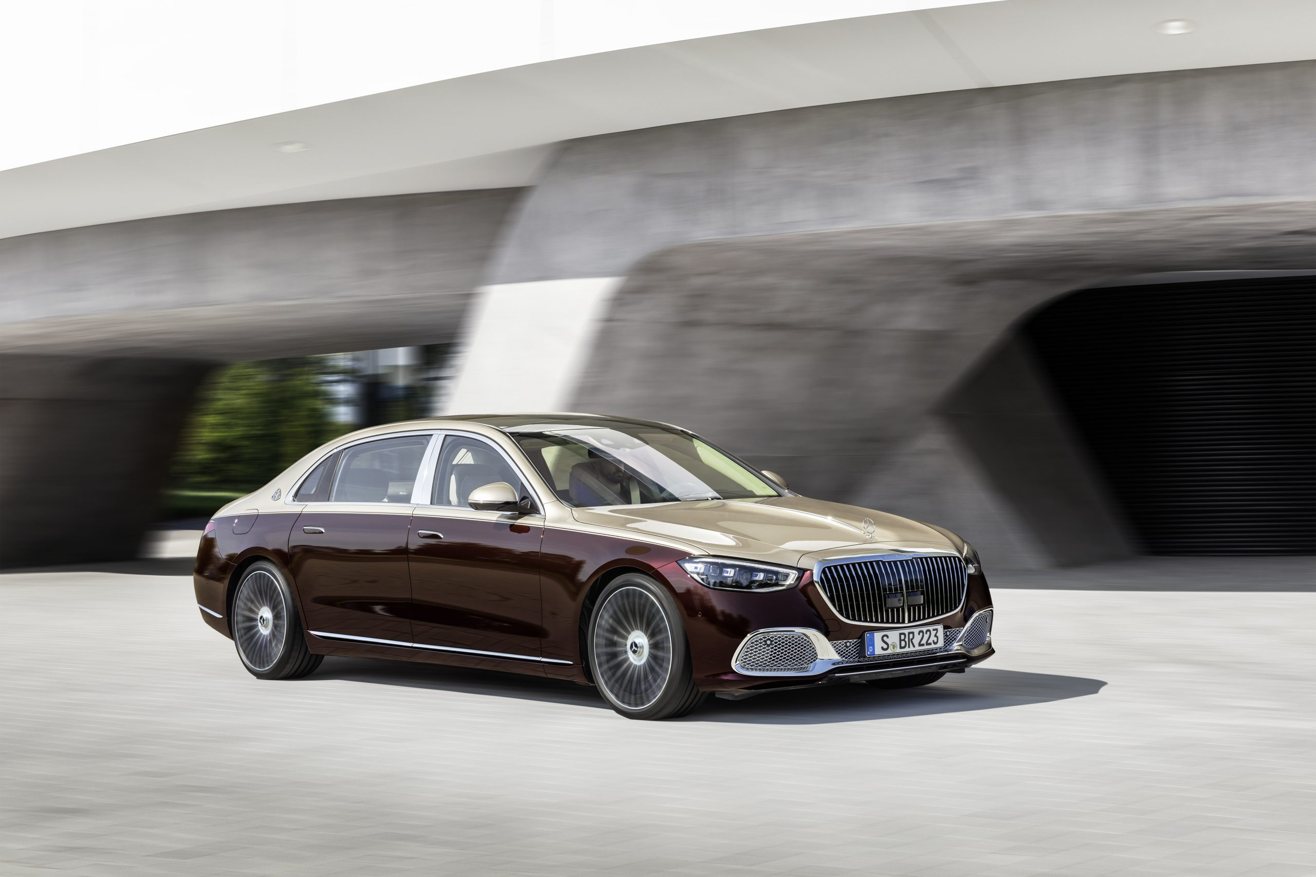 The new Mercedes-Maybach S-Class