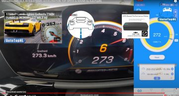 273 km/h for the new Mercedes-AMG GLA 45S on the highway