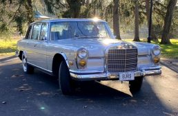 Mercedes-Benz 600 that belonged to Elvis Presley enters auction