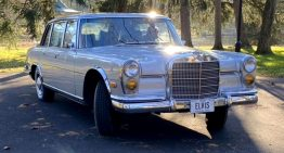 Mercedes-Benz 600 that belonged to Elvis Presley enters auction
