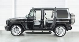 Hofele really fitted the Mercedes-Benz G-Class with suicide doors