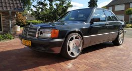 Mercedes 190 E with V12 engine? Yes, you can buy it