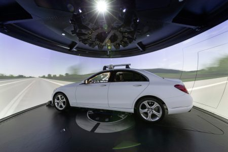 Mercedes-Benz driving simulator