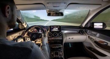The Mercedes-Benz driving simulator has been in service for ten years
