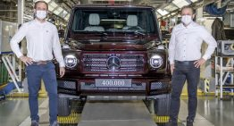 Mercedes-Benz G-Class – anniversary production. How many were ever made?
