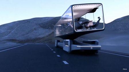 Mercedes-Benz luxury coach 2