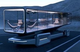 World's most spectacular luxury coach bears the Mercedes-Benz logo