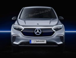 The Mercedes EQS SUV will debut in the mid 2022