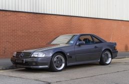 Rare Mercedes SL 60 AMG owned by the Sultan of Brunei for sale