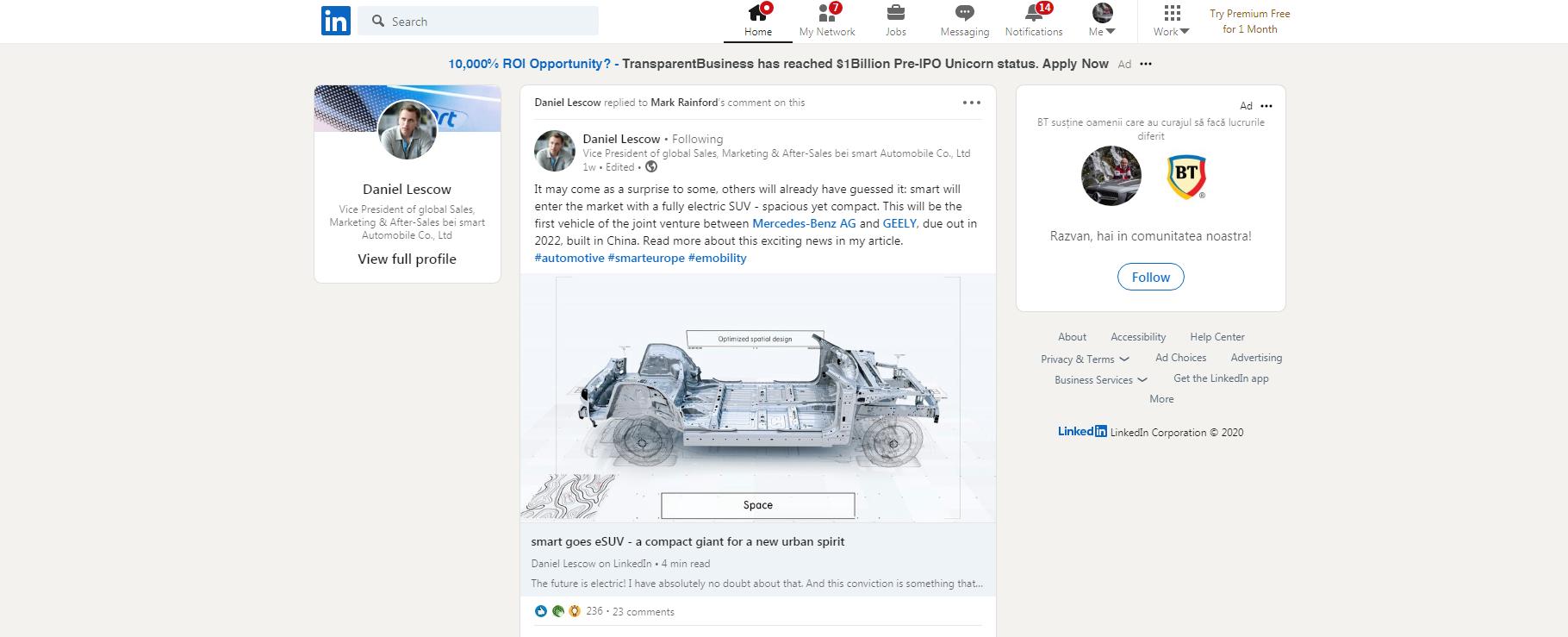 smart platform SUV 2022