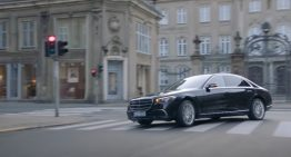 Roger Federer reveals what matters for him in the Mercedes-Benz S-Class ad