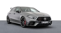 Brabus works its magic on the Mercedes-AMG A 45 S
