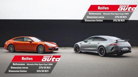 Mercedes-AMG GT 63 S 4-Door Coupe versus Porsche Panamera Turbo S 2