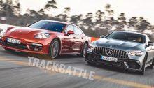 Mercedes-AMG GT 63 S 4-Door Coupe versus Porsche Panamera Turbo S