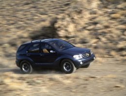 The success story of the Mercedes-Benz SUV started 25 years ago