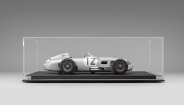 Stirling Moss' racing Mercedes-Benz W196, incredibly detailed model