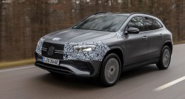 First drive Mercedes EQA 250 by auto motor und sport