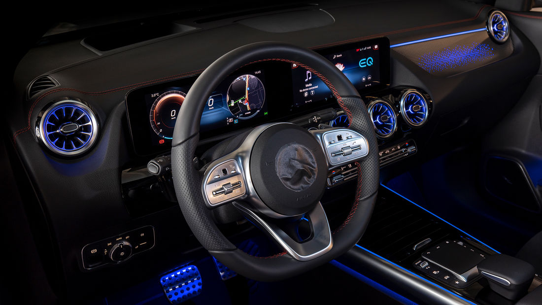 Mercedes EQA test drive before launch